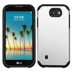 LG K3 Silver/Black Astronoot Phone Case