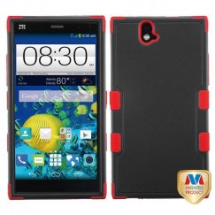 ZTE Grand X Max / Grand X Max Plus Natural Black/Red Hybrid Case