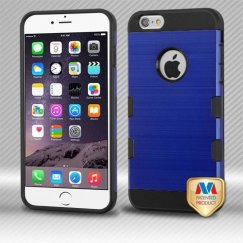 Apple iPhone 6s Plus Dark Blue/Black Brushed Hybrid Case