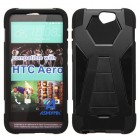 HTC One A9 Black Inverse Advanced Armor Stand Case