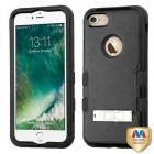 Apple iPhone 7 Natural Black/Black Hybrid Phone Protector Cover (with Stand)