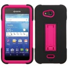 Kyocera Wave / Hydro Air Hot Pink/Black Symbiosis Stand Case