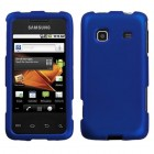 Samsung Galaxy Prevail Titanium Solid Dark Blue Phone Protector Cover