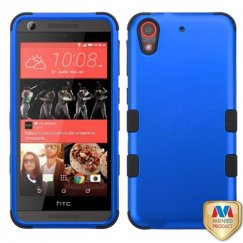 HTC Desire 555 Titanium Dark Blue/Black Hybrid Case
