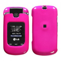 LG VX8370 Clout Solid Shocking Pink Case