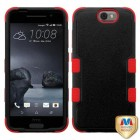 HTC One A9 Natural Black/Red Hybrid Phone Protector Cover