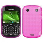 Blackberry 9900 Bold Hot Pink Argyle Candy Skin Cover