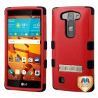 LG LS751 Volt 2 Natural Red/Black Hybrid Case with Stand