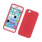 Apple iPhone 5c Silicone Skin Case Red