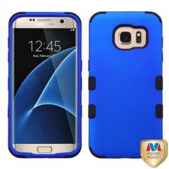 Samsung Galaxy S7 Edge Titanium Dark Blue/Black Hybrid Case
