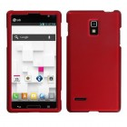LG Optimus L9 Titanium Solid Red Case