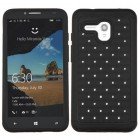 Alcatel One Touch Fierce XL Black/Black FullStar Protector Cover