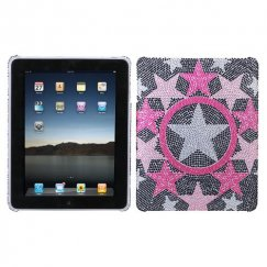 AppleiPad 1st Generation 2010 Twinkle Diamante Back Case