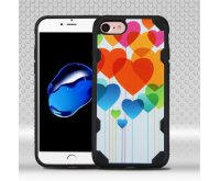 Heart Balloons/Black Chali-Image Protector Cover-with Image