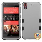 HTC Desire 626 Rubberized Gray/Black Hybrid Phone Protector Cover