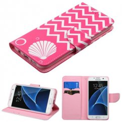 Samsung Galaxy S7 Edge Shell/Pink Wallet