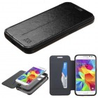 Samsung Galaxy Core Prime Black wallet (with card slot)