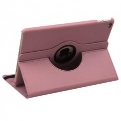 AppleiPad Air 2nd Gen Pink Premium Rotatable Wallet