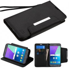 Samsung Galaxy J3 Black Wallet