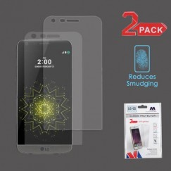 LG G5 Anti-grease LCD Screen Protector - Clear - 2-pack