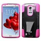 LG G Pro 2 Hot Pink Inverse Advanced Armor Stand Protector Cover