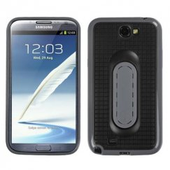 Samsung Galaxy Note 2 Black Snap Tail Stand Case
