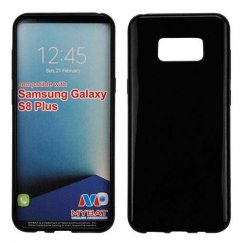 Samsung Galaxy S8 Plus Glossy Jet Black Candy Skin Cover