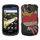 Samsung Droid Charge SCH-i510 Heartbreaker Diamante Phone Protector Cover