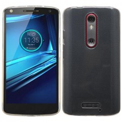Motorola Droid Turbo 2 Glossy Transparent Clear Candy Skin Cover