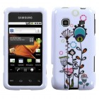 Samsung Galaxy Prevail Peacock Tail Flowers Phone Protector Cover
