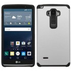 LG G Stylo Silver/Black Astronoot Phone Protector Cover