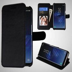 Samsung Galaxy S8 Black NeoUrban Plus Wallet