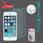 Apple iPhone 5/5s Tempered Glass Screen Protector (2.5D)(2-pack)