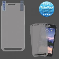 Samsung Galaxy S6 Active Screen Protector Twin Pack