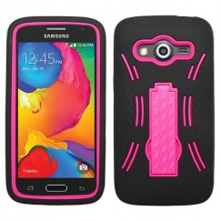 Samsung Galaxy Avant Hot Pink/Black Symbiosis Stand Case
