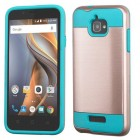 Coolpad Catalyst Rose Gold/Tropical Teal Brushed Hybrid Case