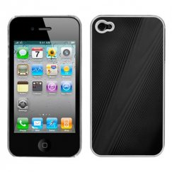 Apple iPhone 4/4s Black Cosmo Back Case
