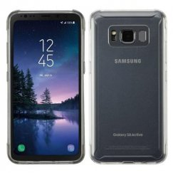 Samsung Galaxy S8 Active Glossy Transparent Clear Candy Skin Cover