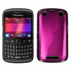 Blackberry 9360 Curve Hot Pink Cosmo Back Protector Cover