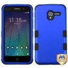 Alcatel Stellar / Tru 5065 Titanium Dark Blue/Black Hybrid Case