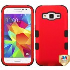 Samsung Galaxy Core Prime Titanium Red/Black Hybrid Case