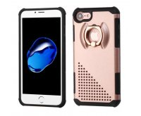 Rose Gold/Black Astronoot Protector Cover (with Metal Ring Stand)