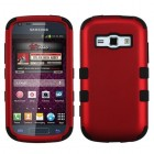 Samsung Galaxy Ring Titanium Red/Black Hybrid Phone Protector Cover