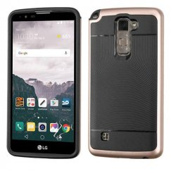 LG LG G Stylo 2 Plus Gold Frame/Black Astronoot Case