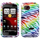 HTC Rezound Colorful Zebra Phone Protector Cover