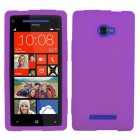 HTC Windows Phone 8x Solid Skin Cover - Electric Purple