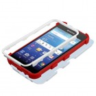 Kyocera Wave / Hydro Air Mexican Flag/Red Hybrid Case