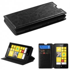 Nokia Lumia 520 Black Wallet with Tray