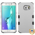 Samsung Galaxy S6 Edge Plus Rubberized Gray/Black Hybrid Case
