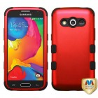 Samsung Galaxy Avant Titanium Red/Black Hybrid Phone Protector Cover